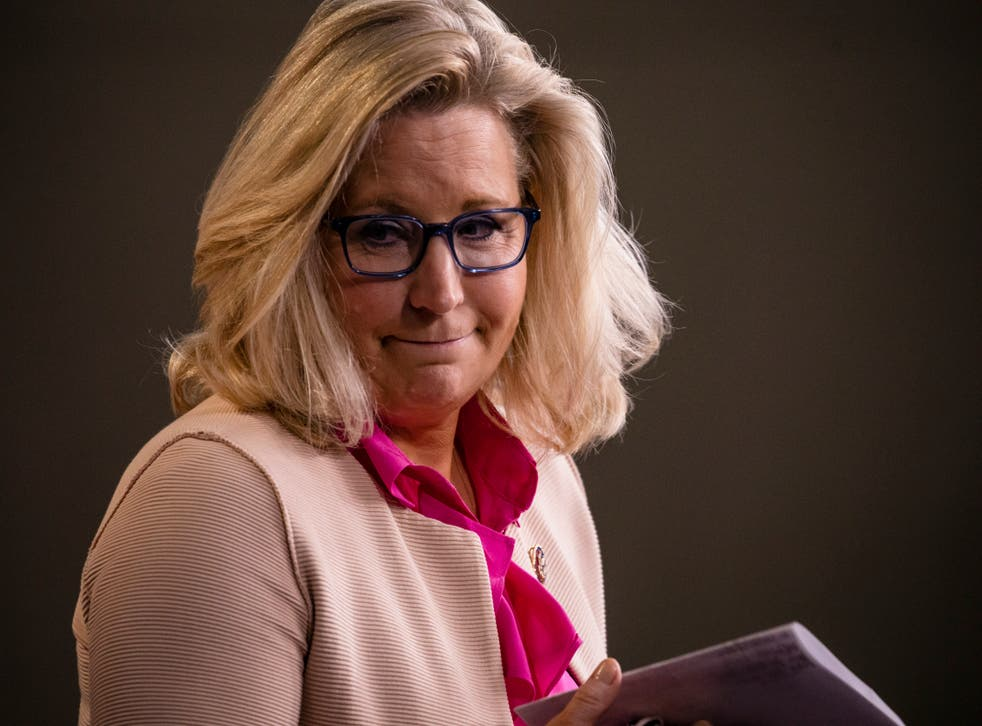 <p>These are difficult days for Liz Cheney</p>