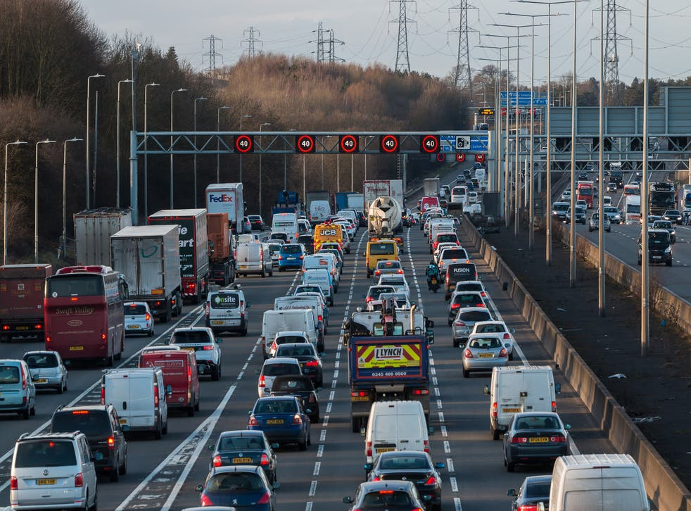 <p>Air pollution from cars and the burning of fuels is a major contributor to premature death in the UK</p>