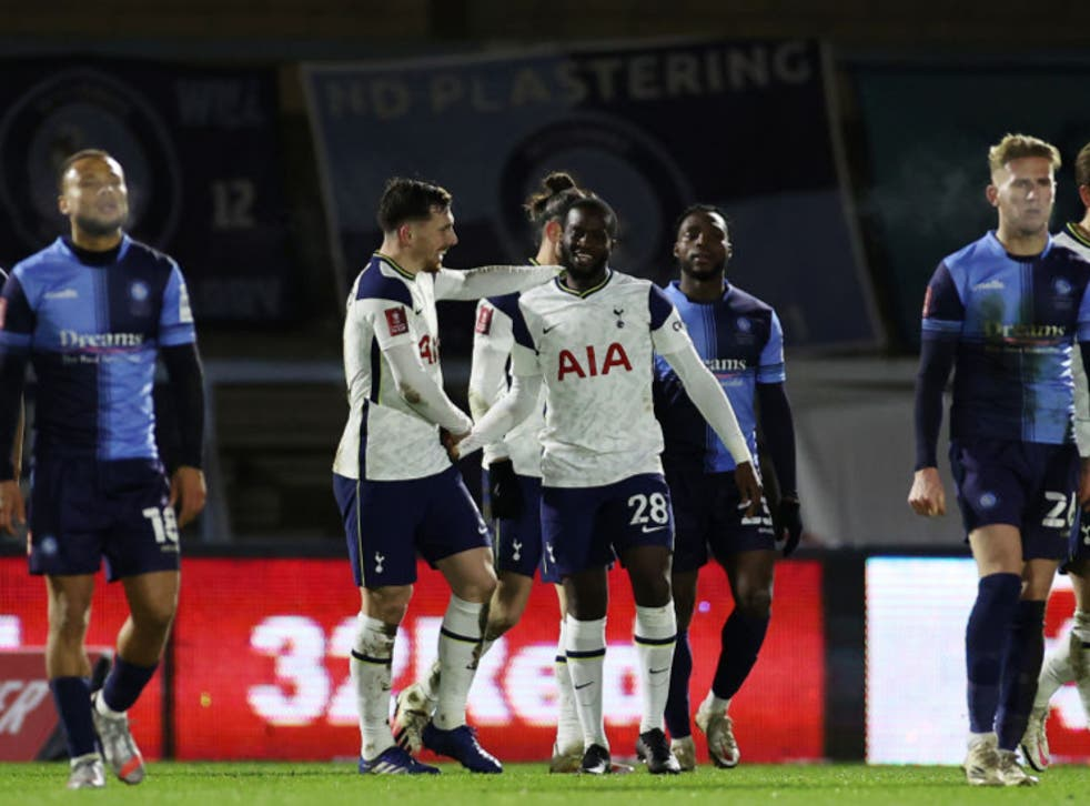Wycombe vs Tottenham result, final score and FA Cup report | The Independent