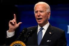 Biden has bold first call with Putin - follow live