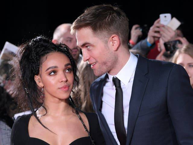 <p>Twigs y Robert Pattinson 'La ciudad perdida de Z' estreno de la película, el Museo Británico, Londres, Reino Unido - 16 de febrero de 2017.</p>