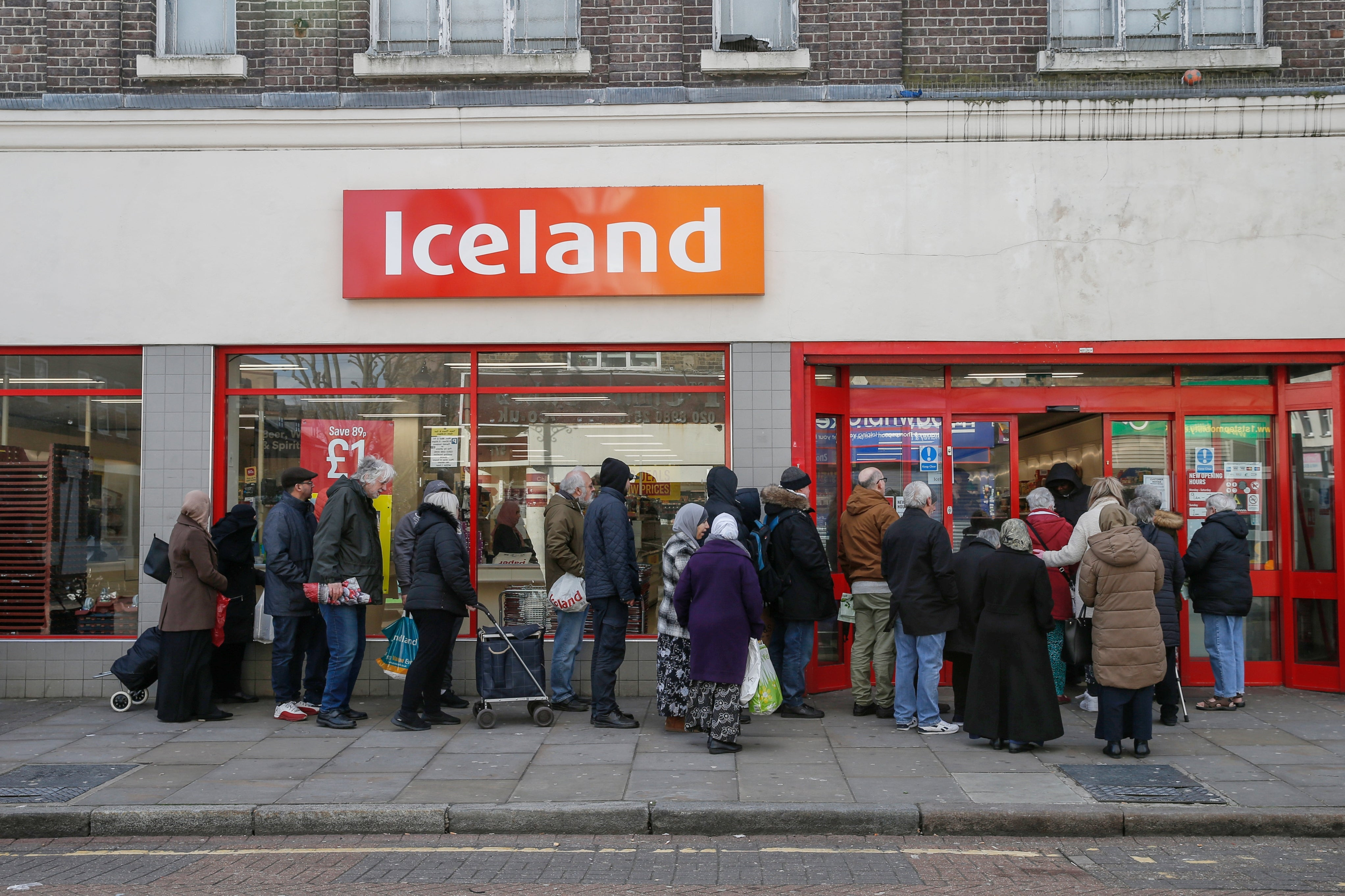 Iceland ranks worst for plastic use in new UK supermarket report