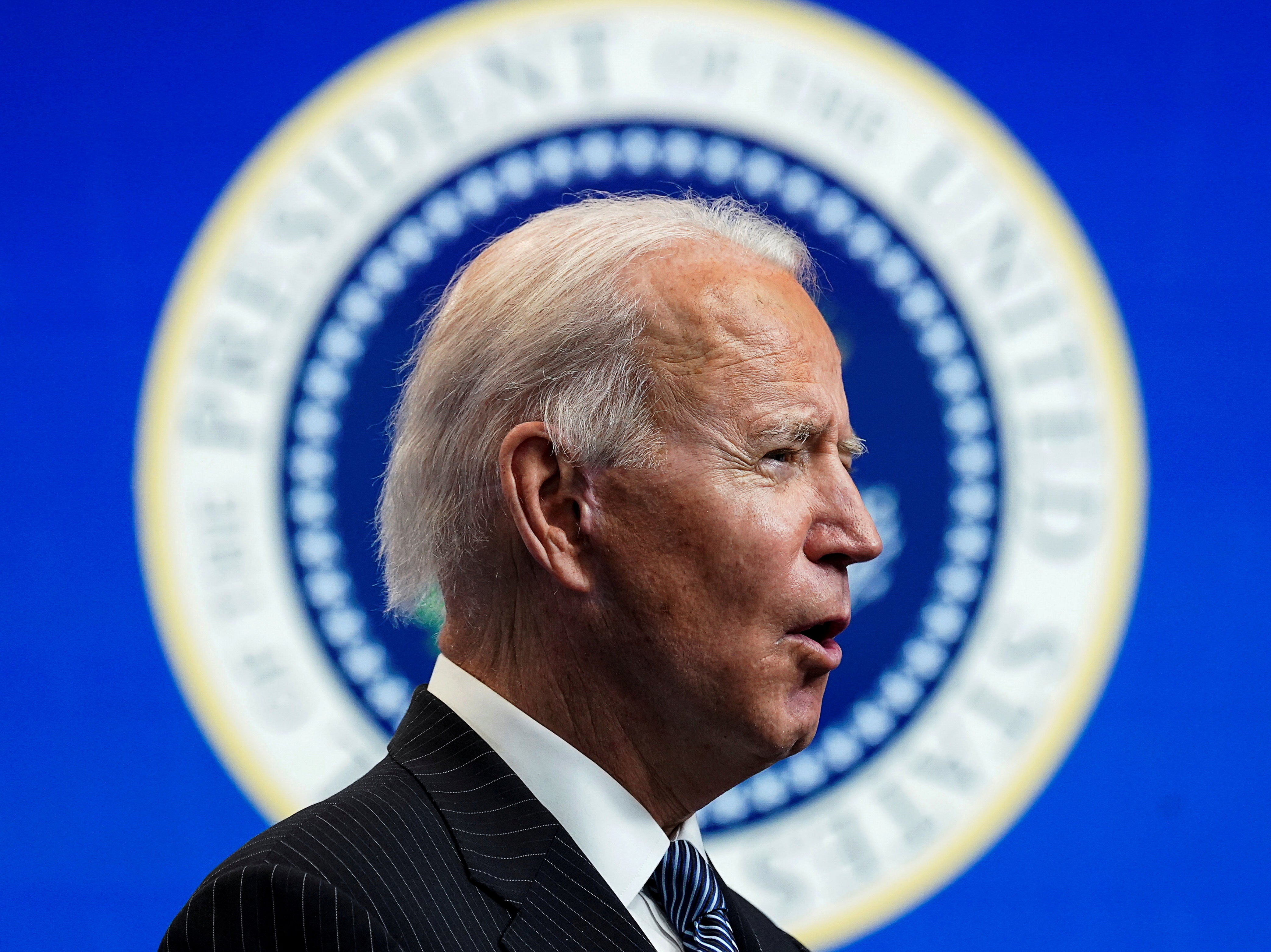 Biden polls 63 per cent in first presidential approval rating