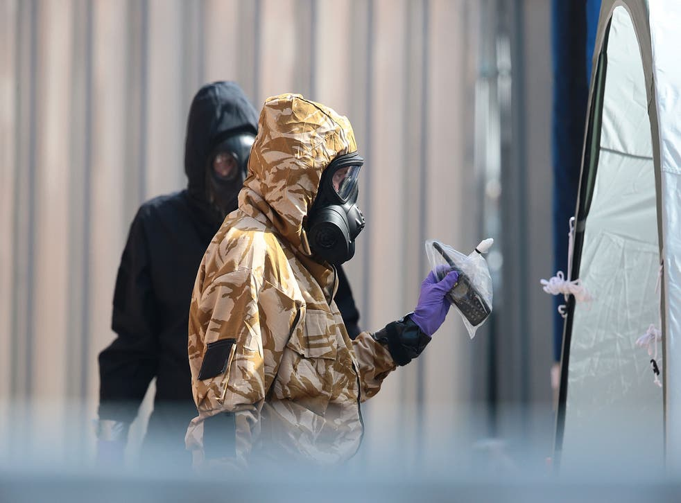 <p>Rink tried to accuse British agents of poisoning Sergei Skripal</p>