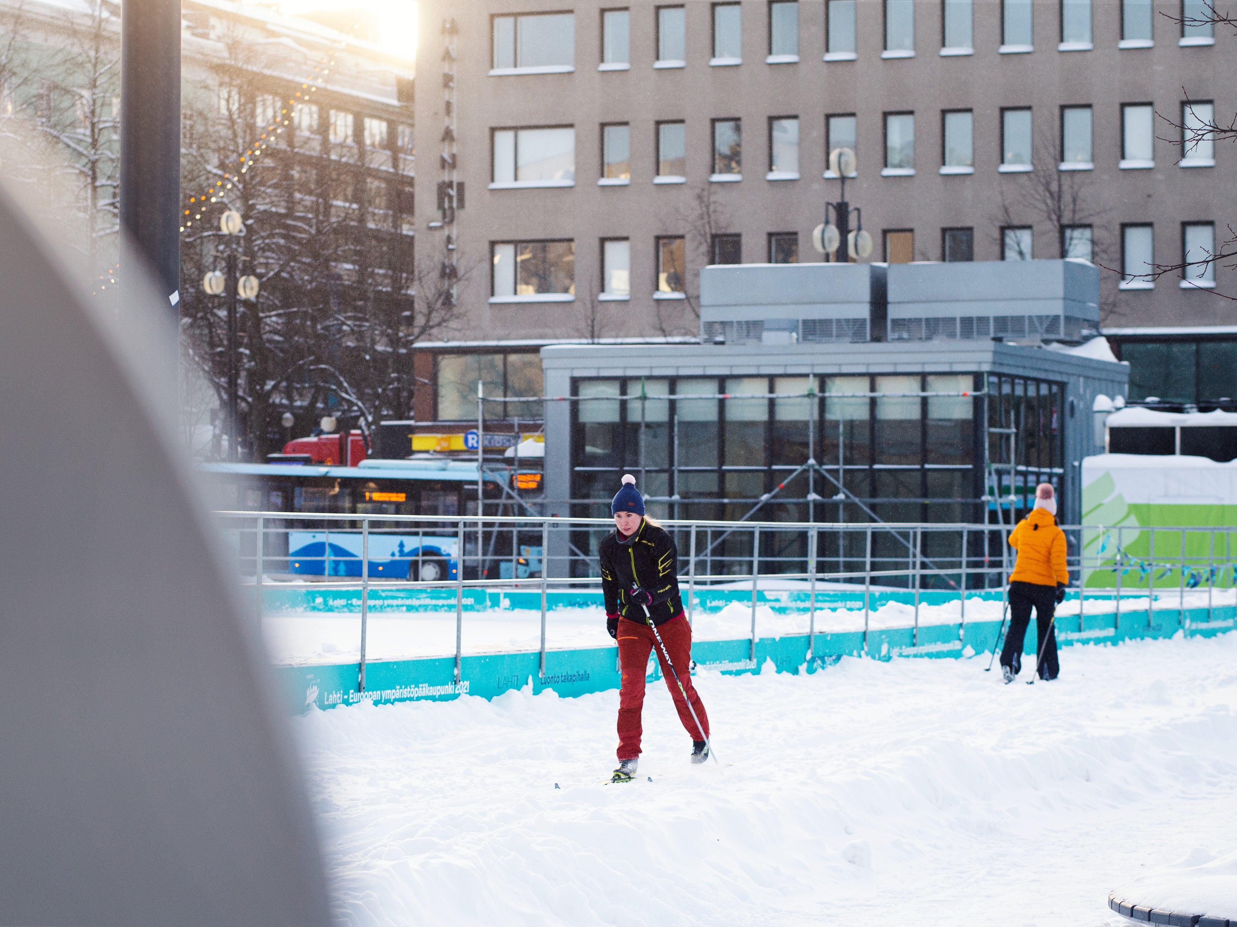 Finland launches world's first urban ski sharing scheme
