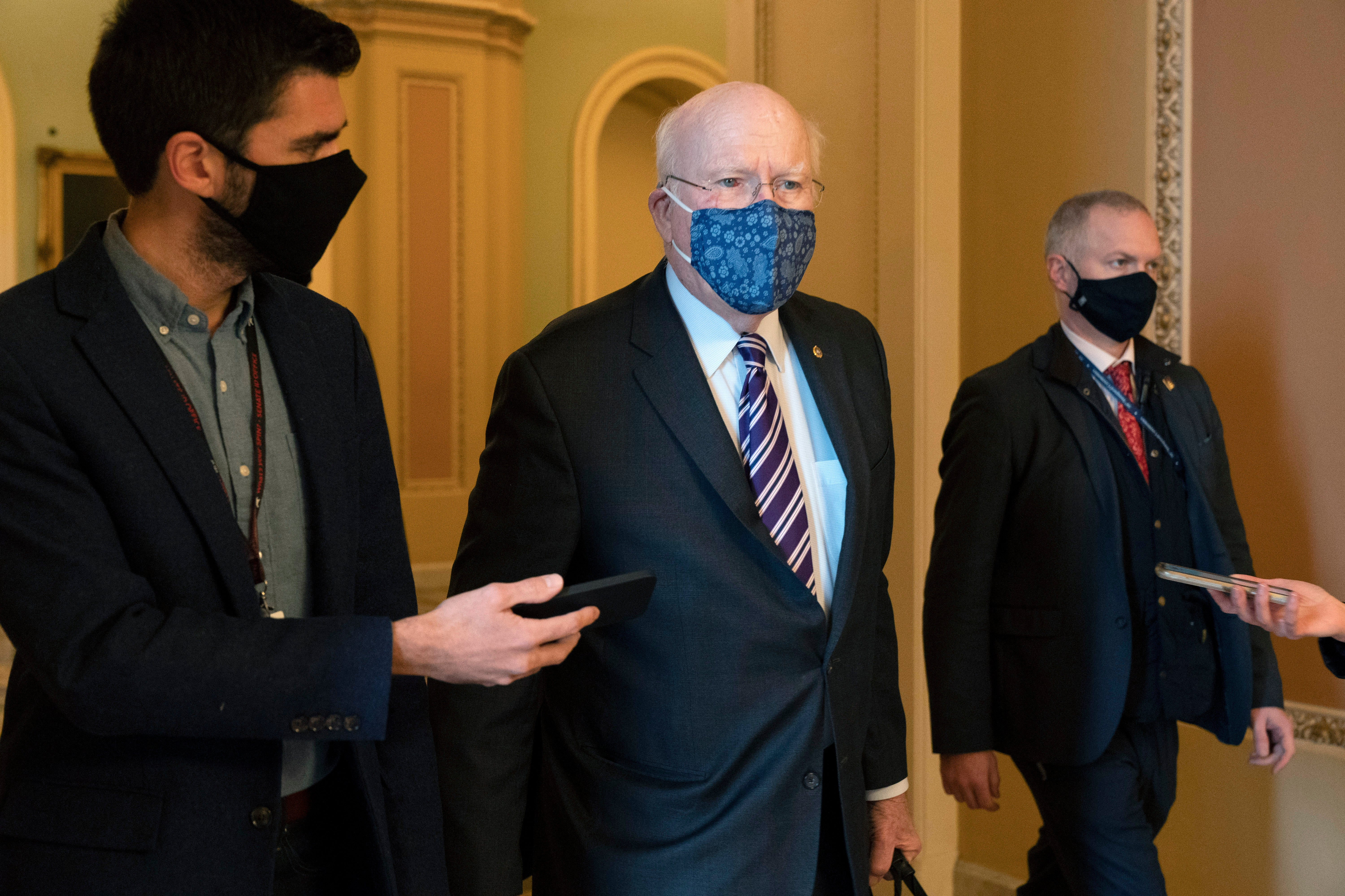 Vermont Sen. Leahy taken to hospital for observation - independent