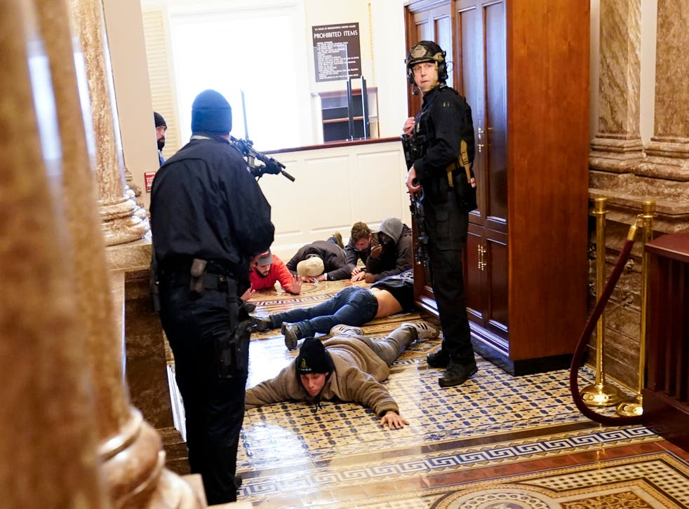 WASHINGTON DISTURBIOS POLICIA