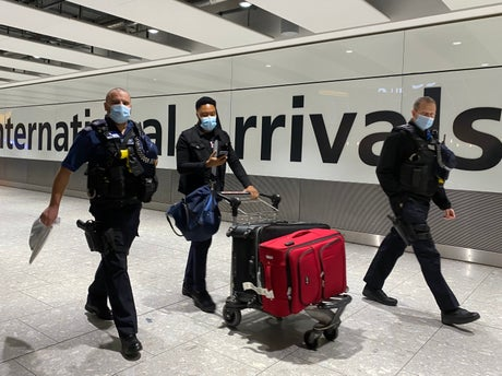 Covid news – live: Hotel quarantine expected for arrivals from 30 high-risk countries as UK deaths top 100,000