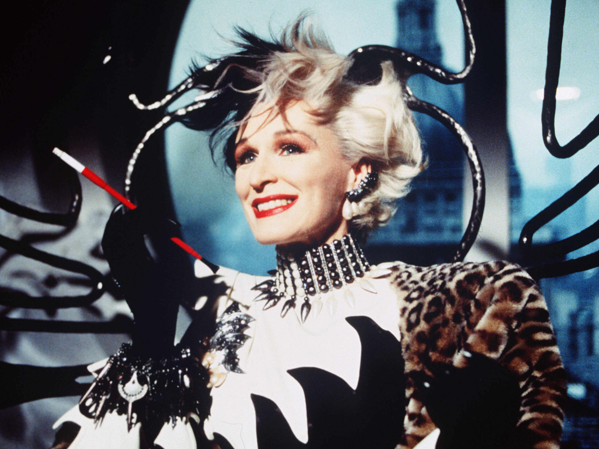 Glenn Close reveals how she managed to keep all her Cruella de Vil costumes from 101 Dalmatians