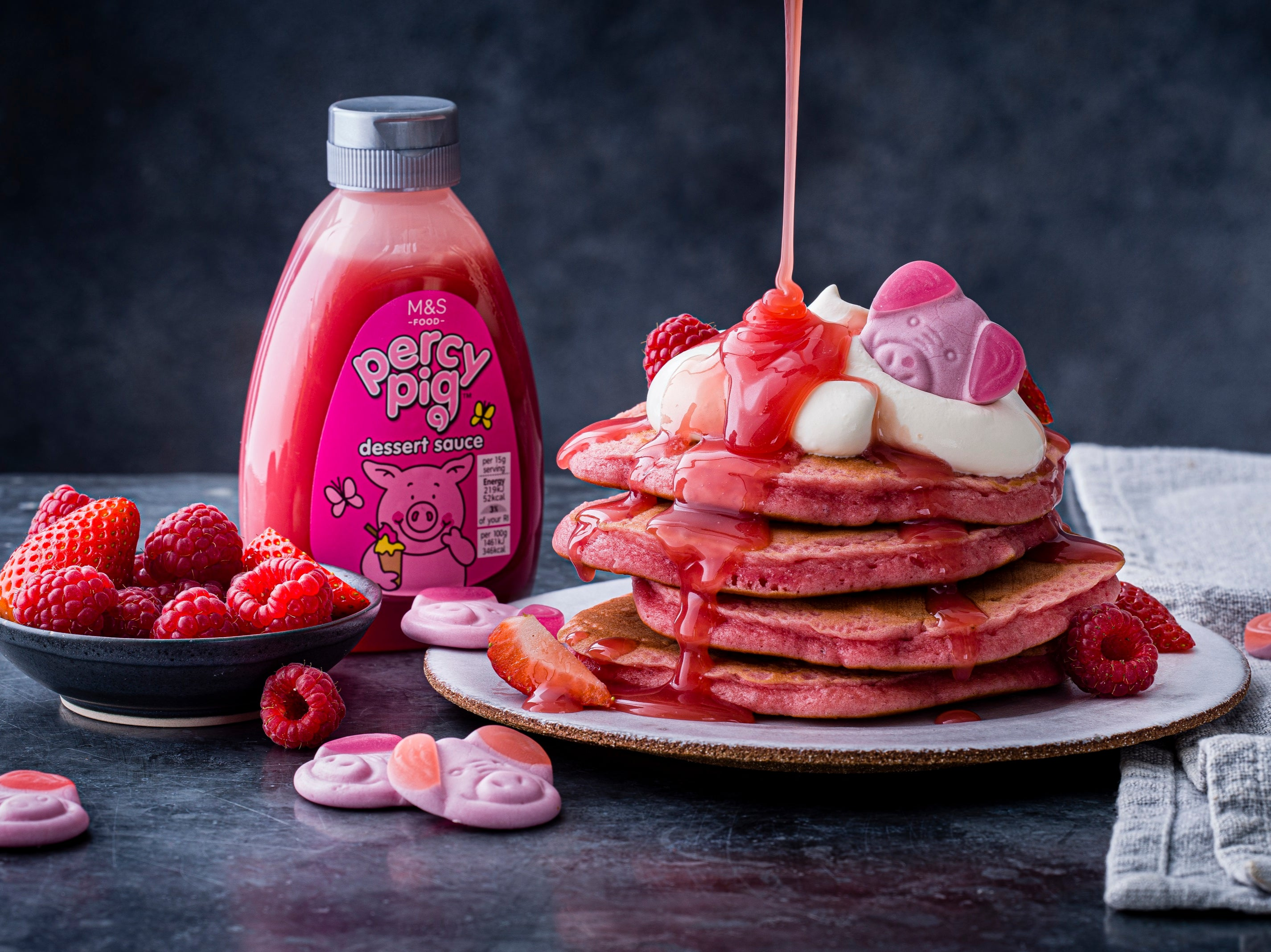 Marks & Spencer's Percy Pigs now come in pink pancake form