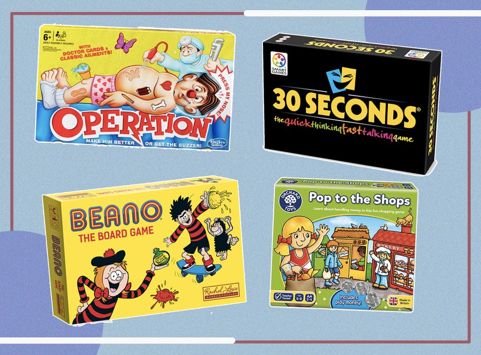 10 Best Family Board Games From Scrabble To Catan The Independent