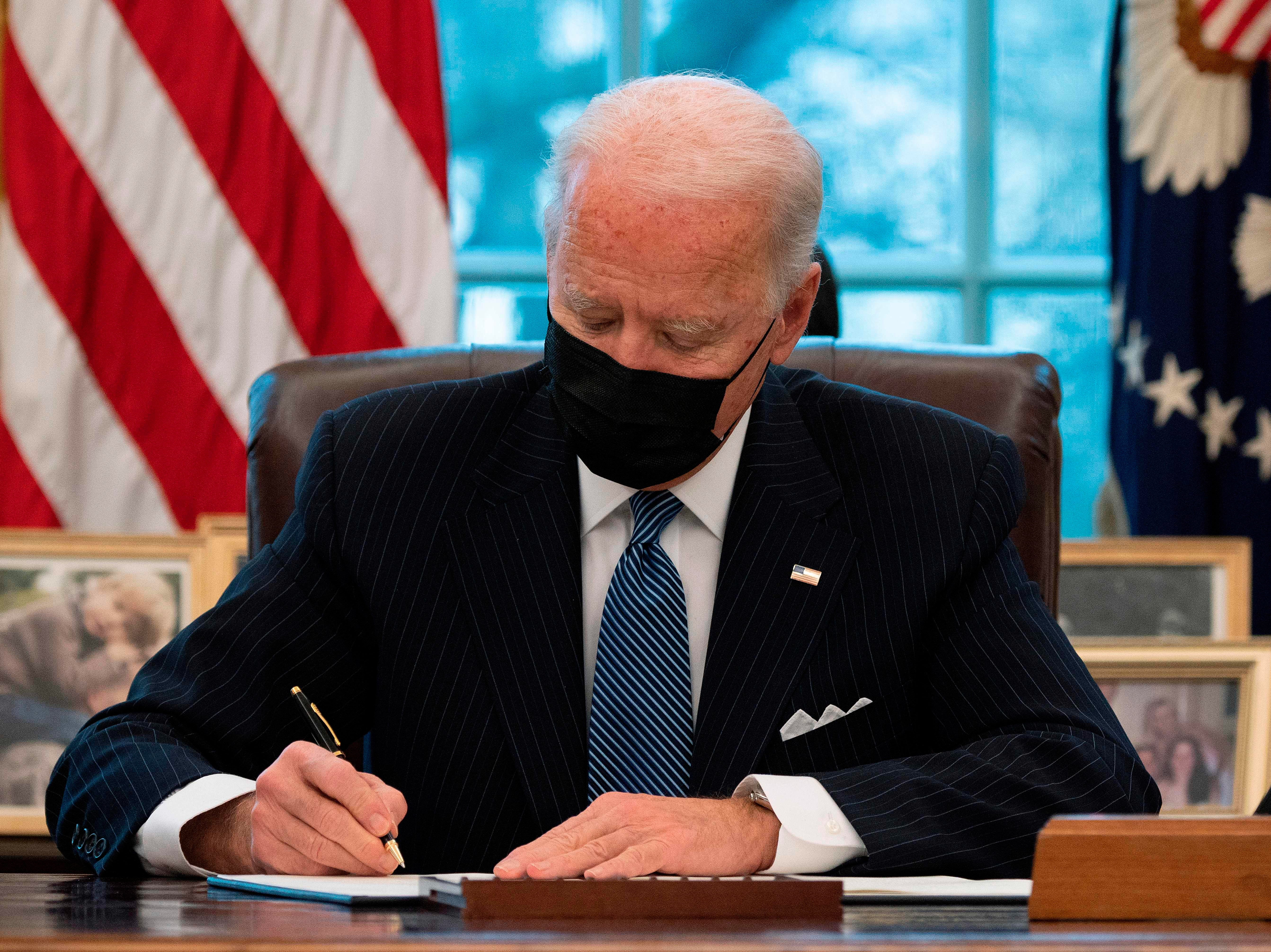 Biden extends Affordable Care Act eligibility in his latest executive orders to 'undo the damage Trump has done'