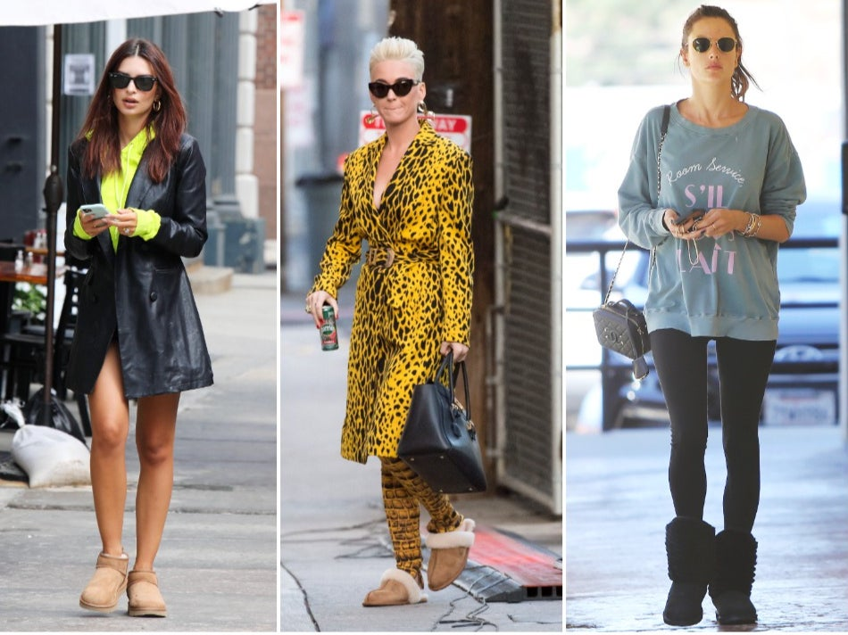 Ugg boots are officially back in fashion - and they're celeb approved