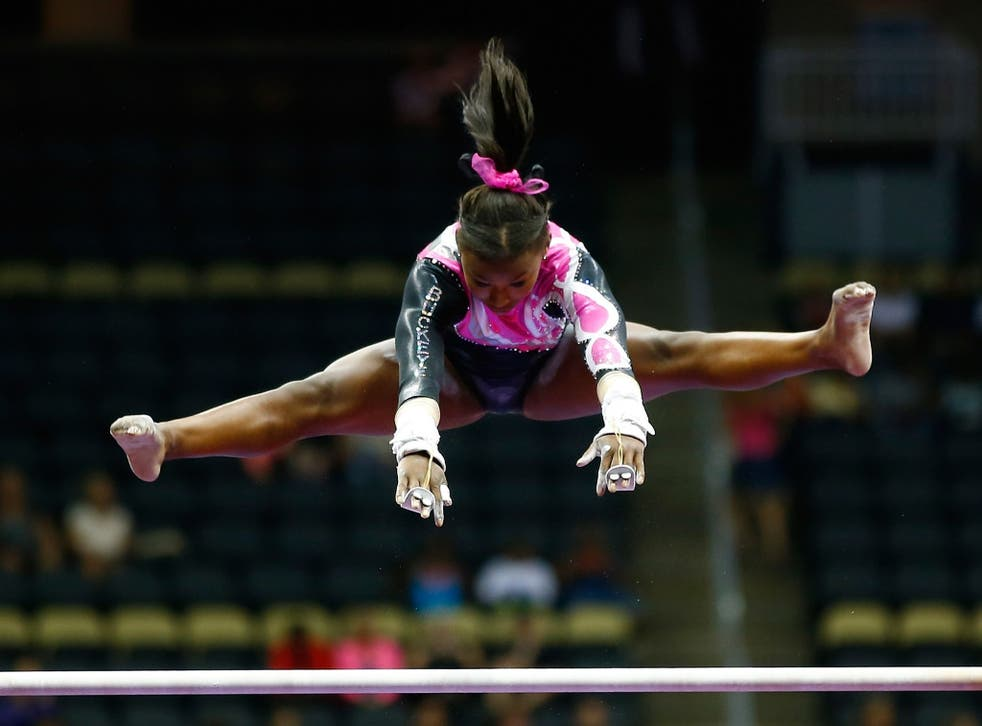 Black gymnast goes viral after performance routine with