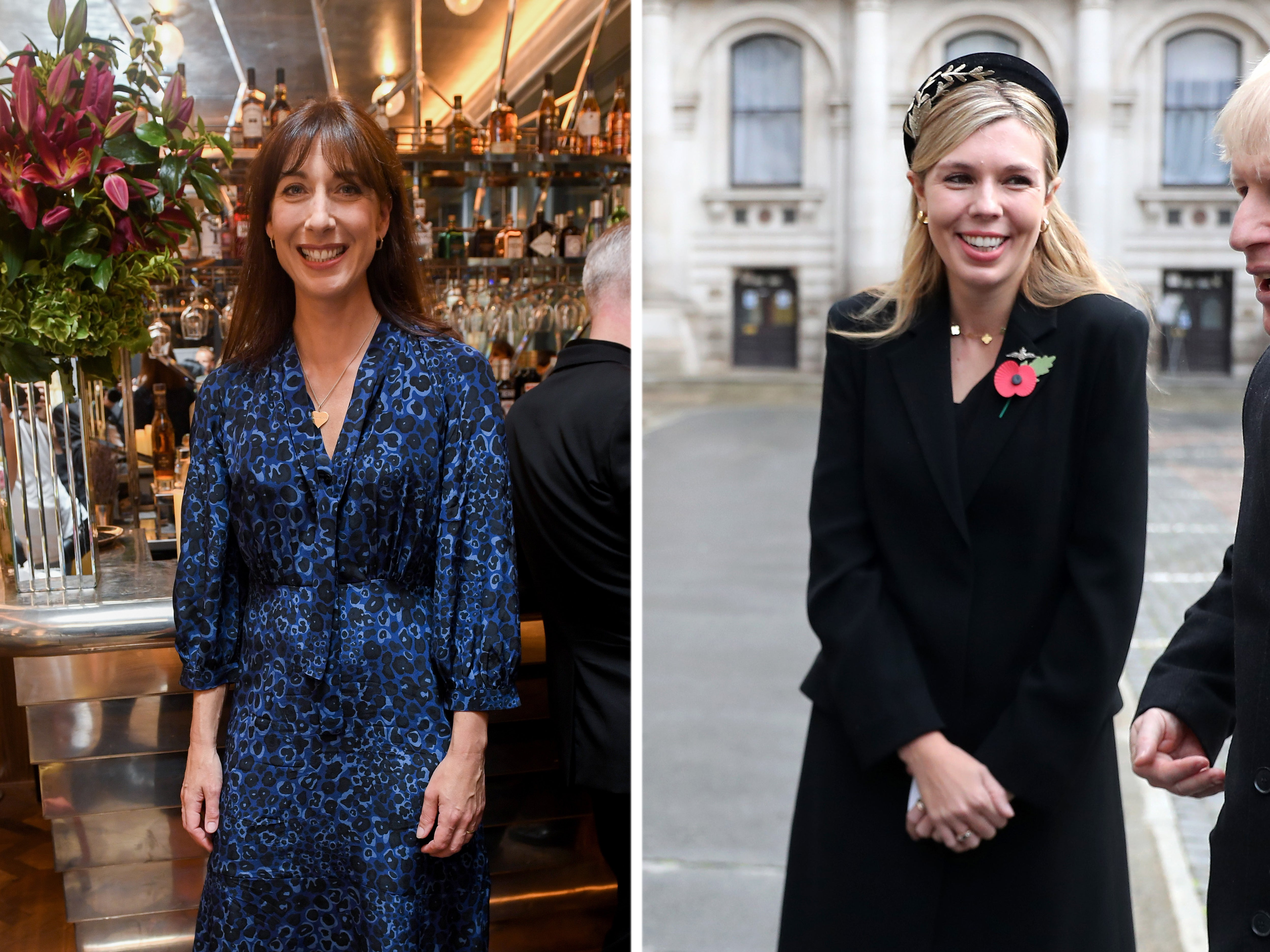 Samantha Cameron says suggestions Carrie Symonds influences PM's decisions are 'sexist'