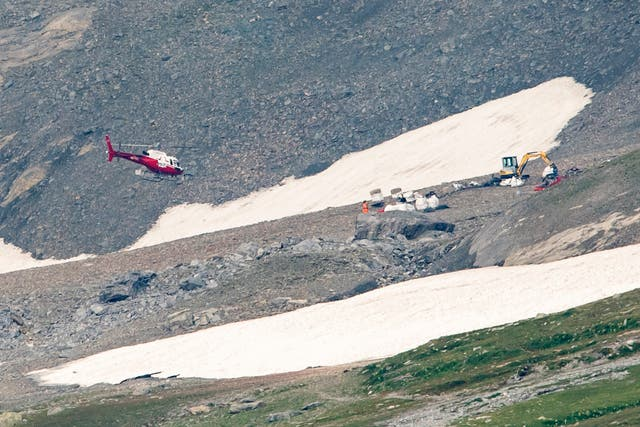 Switzerland Plane Crash