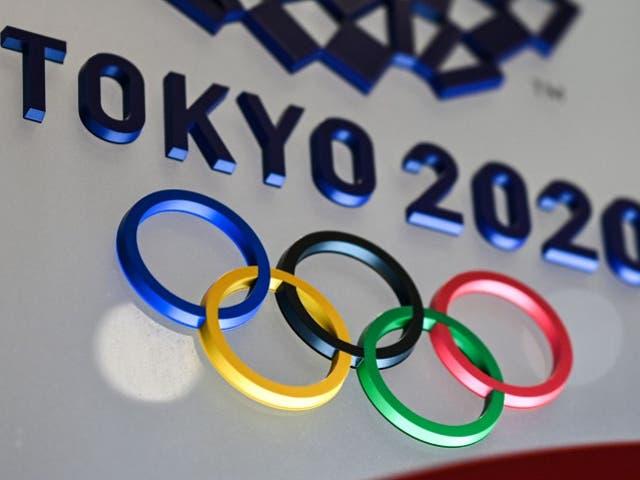 <p>El logotipo de los Juegos Olímpicos de Tokio 2020 se verá en Tokio el 28 de enero de 2021.</p>