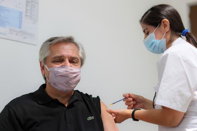 <p>Las palabras del presidente argentino llegaron apenas dos días después de que la Conmebol anunció la donación de 50.000 vacunas contra el coronavirus por parte de Sinovac</p>