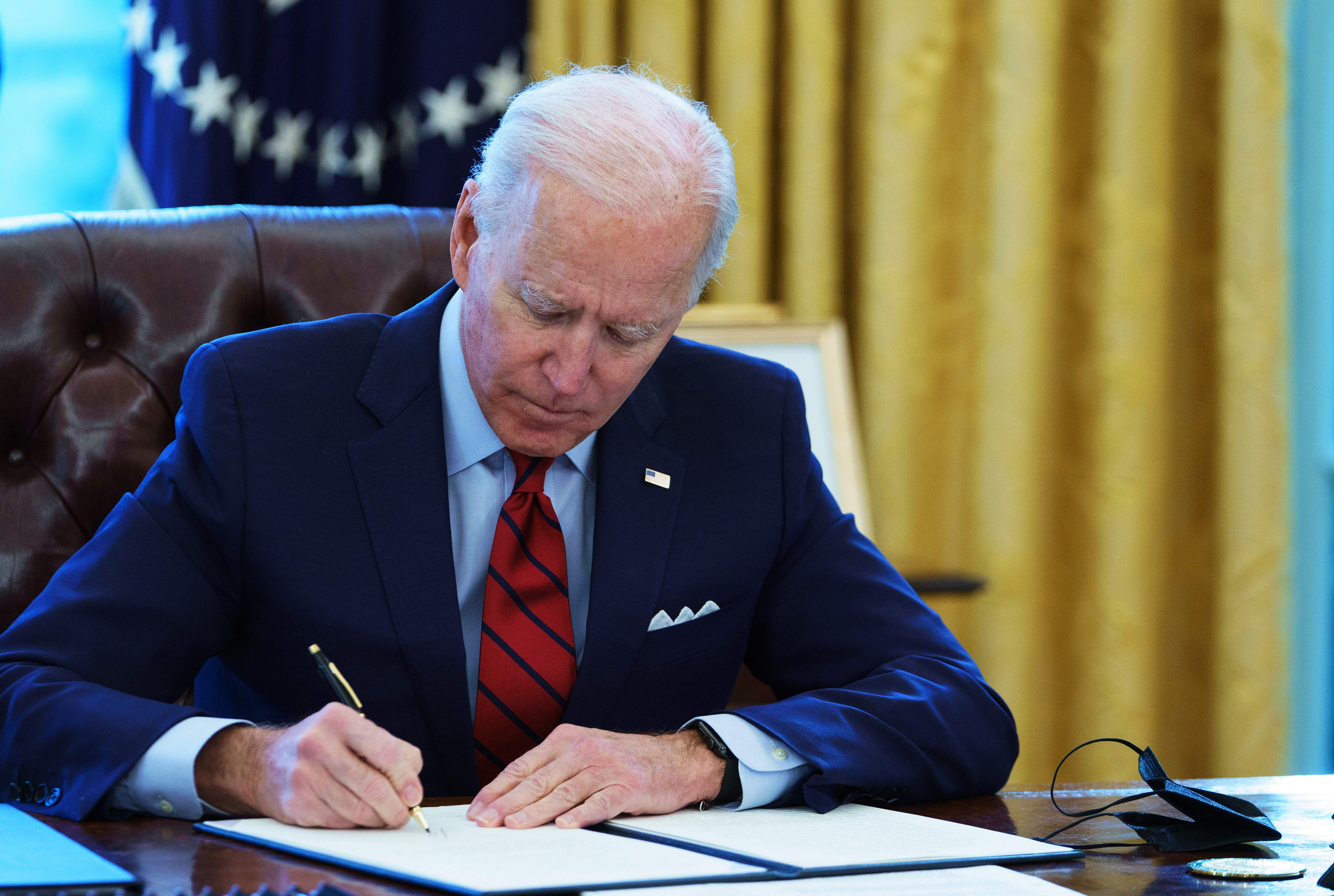 Biden using executive orders to overturn 'immoral' policies of Trump administration