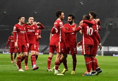 Liverpool regain air of champions as Spurs count cost of painful loss
