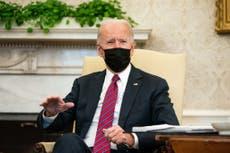 """Biden quiere un """"breve juicio político"""" contra Trump"""