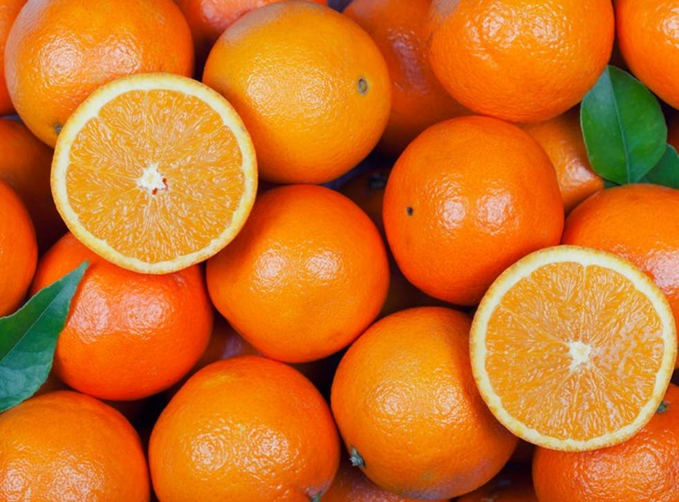 Oranges: tasty but likely to cause ulcers if eaten in bulk