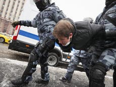 Thousands of Navalny supporters detained in Russia protests