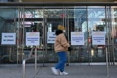 COVID: Nueva York cancela la aplicación de la vacuna por nevadas