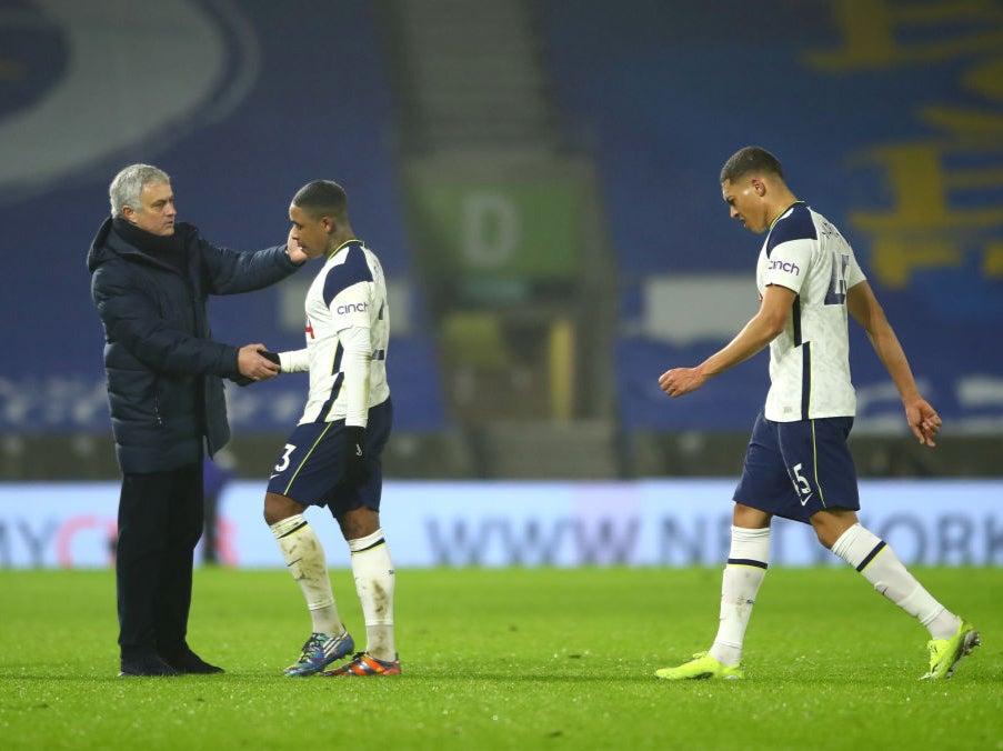 Jose Mourinho admits fragile confidence cost Tottenham against Brighton