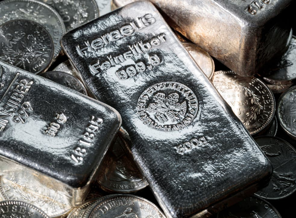 <p>Silver: its market is the latest to experience a Reddit-led gold rush&nbsp;</p>