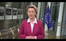 Boris Johnson ha prometido que las vacunas de covid del Reino Unido irán a la UE, dice Von der Leyen