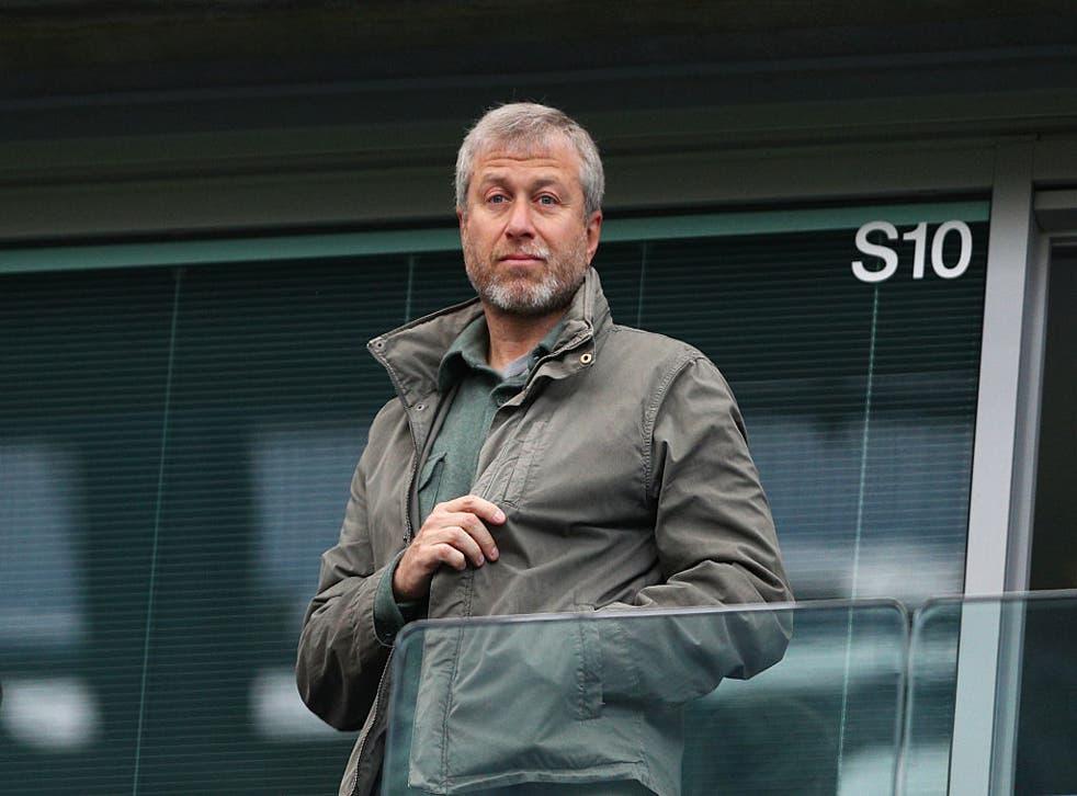 <p>Chelsea owner Roman Abramovich</p>