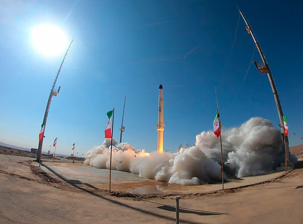 Iran Satellite Carrier Rocket