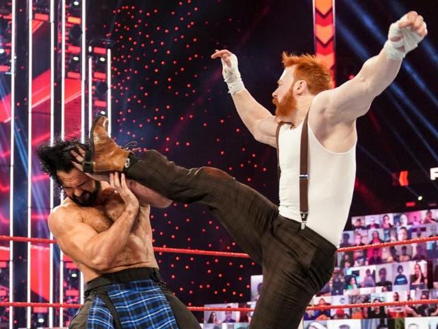 Irish WWE Superstar Sheamus attacked Scotland's Drew McIntyre