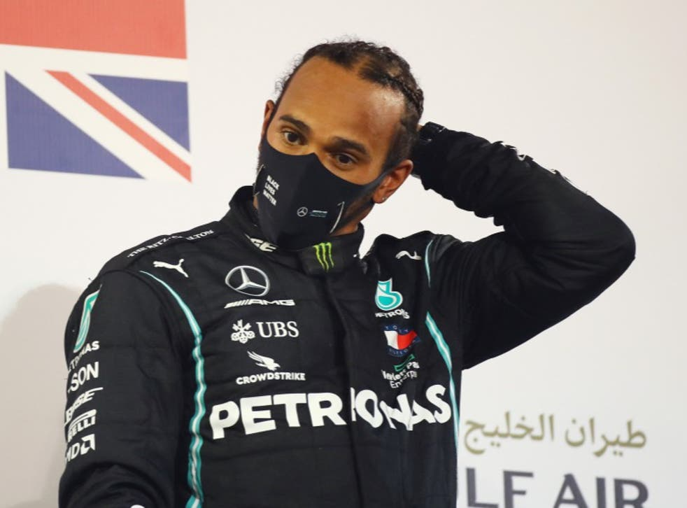 <p>Hamilton's contract with the team expired in December</p>