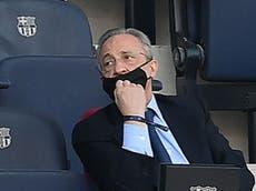 Presidente del Real Madrid, Florentino Pérez da positivo a coronavirus