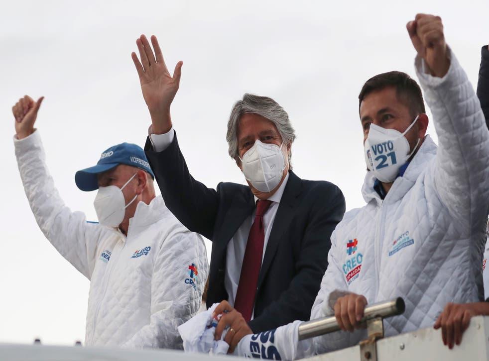 ECUADOR-ELECCIONES LASSO