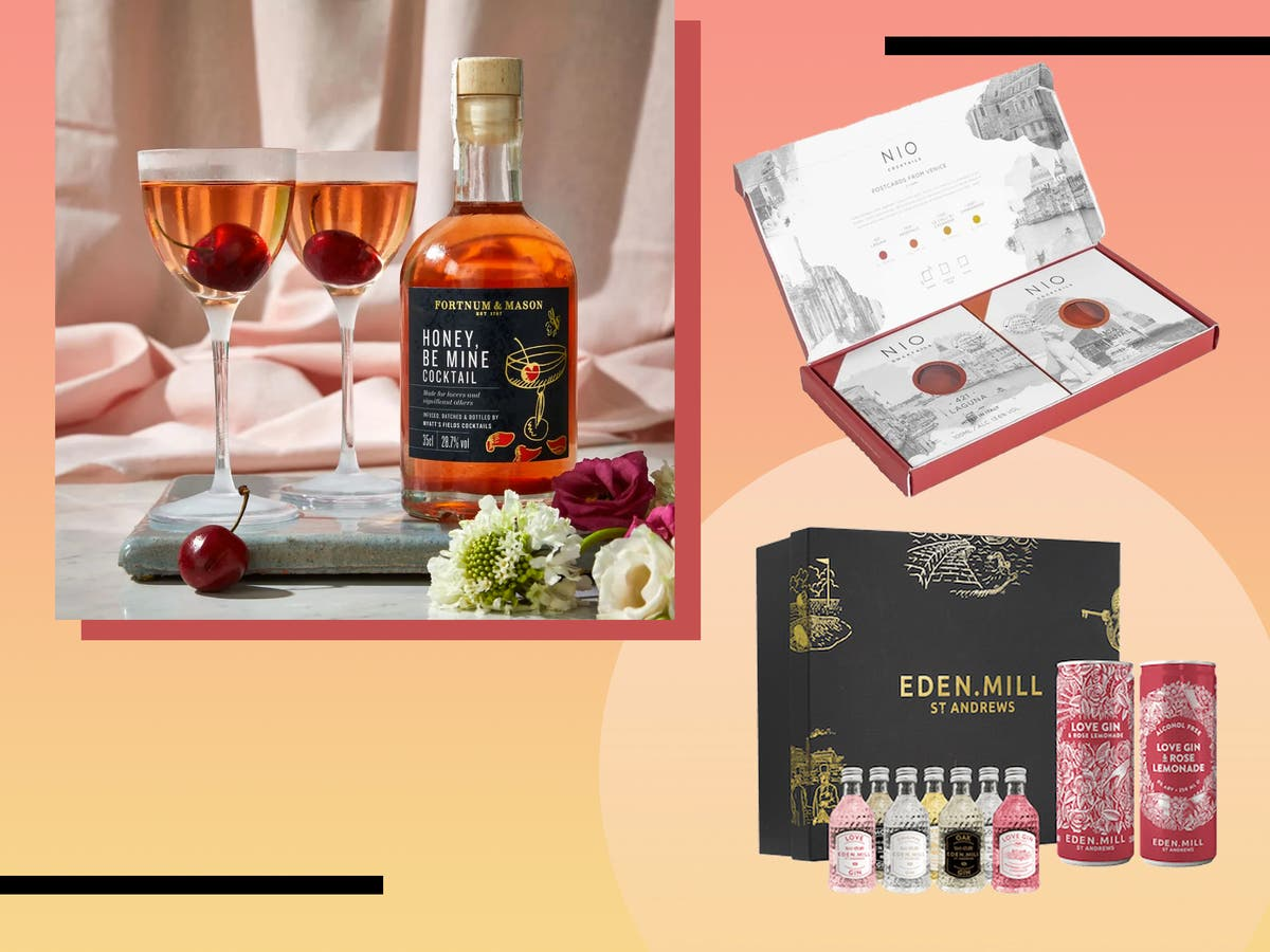 Valentine S Day Cocktail Kits 2021 From Pornstar Martini To Cosmopolitan The Independent