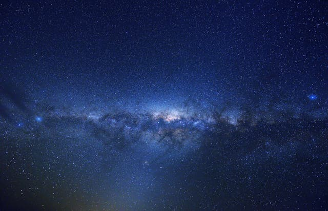 <p>Milky Way in the midnight sky, seen from the southern hemisphere</p>