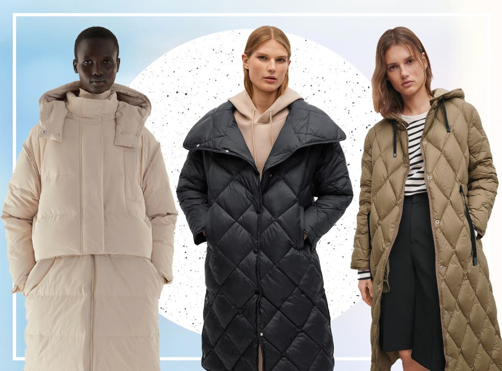 <p>We'd suggest opting for a coat that is cut longer than your knee</p>