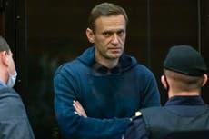 """Navalny dice que Putin """"pasará a la historia como el Envenenador"""""""