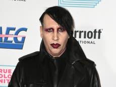 Agencia de talentos CAA corta vínculos con Marilyn Manson