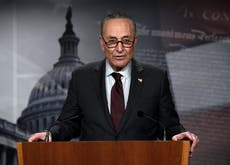 'This is what President Biden wants us to do': Schumer moving forward with Democrats-only Covid-relief bill