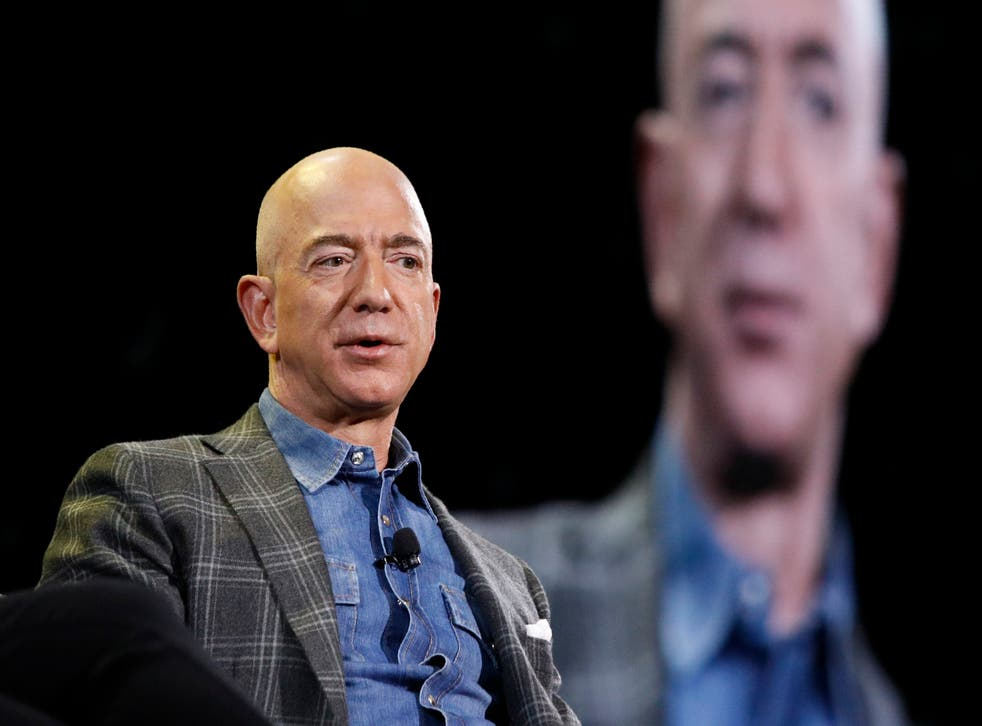 <p>Amazon founder jeff Bezos stepped down as CEO this week</p>