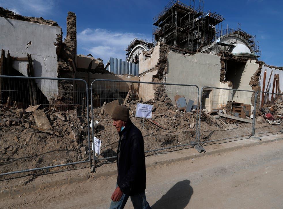 Cyprus Church Demolished