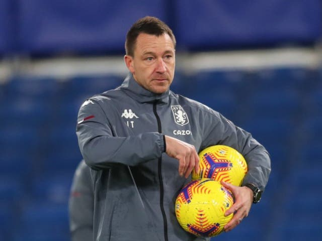 <p>Terry is current on the staff at Aston Villa</p>