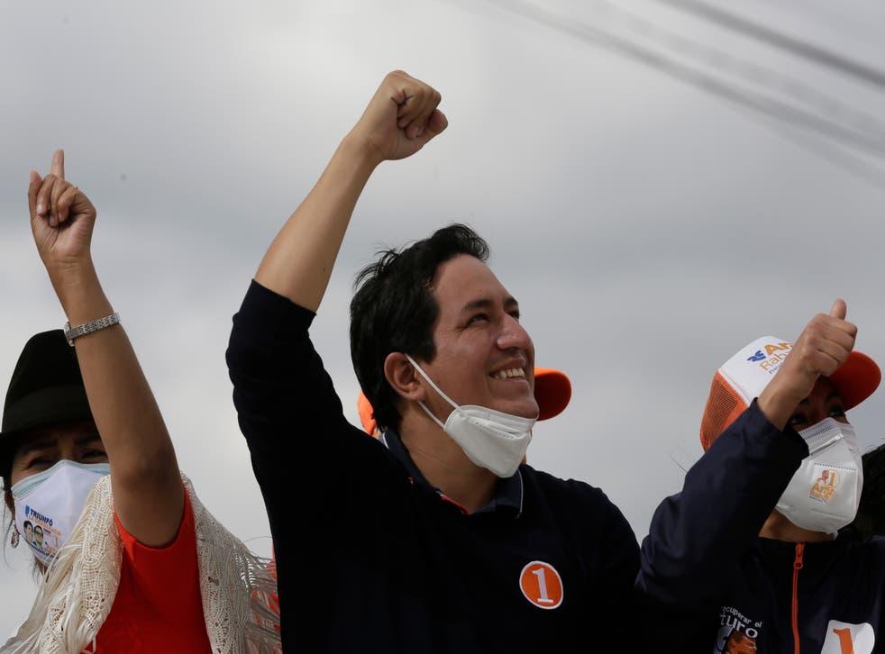 ECUADOR-ELECCIONES ARAUZ