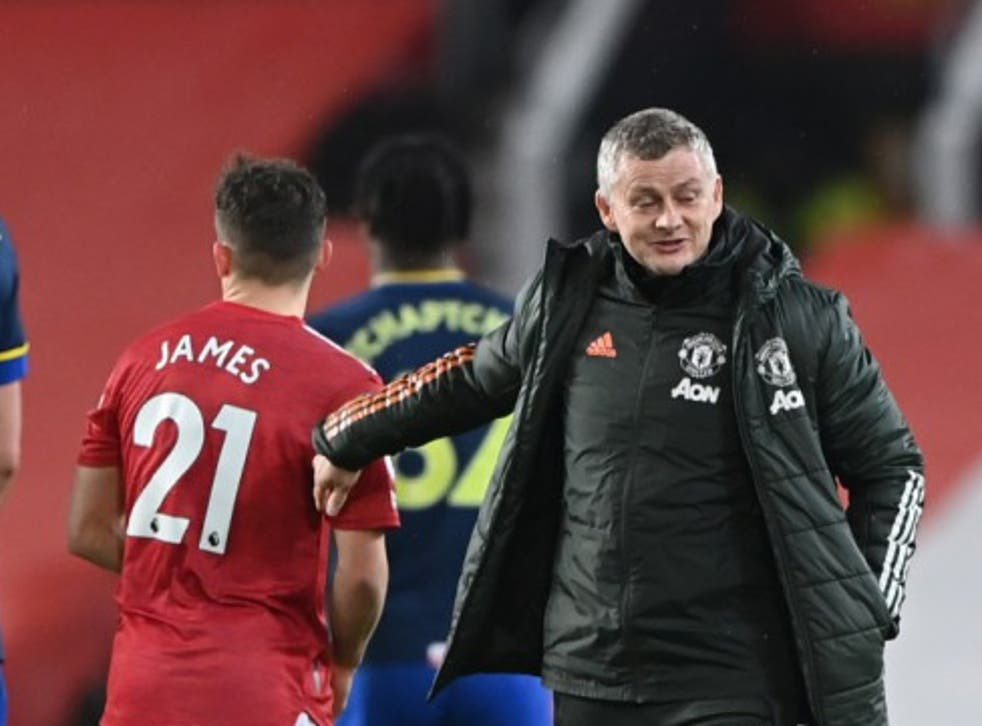 <p>United registered a record win at Old Trafford</p>