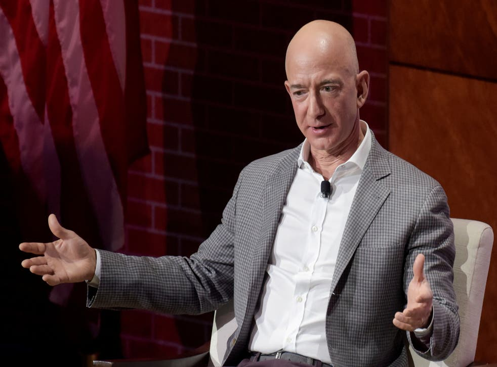 <p>Jeff Bezos has used Amazon's dominant position in e-commerce to extend deep into a host of other areas</p>