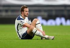 Tottenham: Mourinho espera contar con Kane para el duelo ante el City de la próxima semana